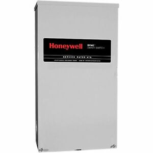 Honeywell trade 200 amp Sync trade Smart Automatic Transfer Switch W Power