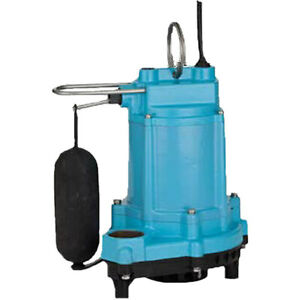 Little Giant 6ec cia sfs 1 3 Hp Submersible Sump Pump W Vertical Float Switch