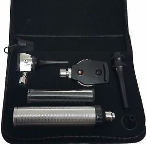 Veterinary Ophthalmoscope Otoscope Diagnostic Set Whitest Led Illumination
