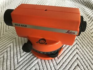 Leica Wild Na20 Construction Automatic Level Surveyor Survey Equipment