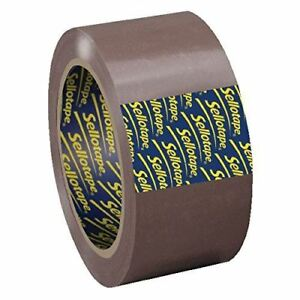 Sellotape Parcel Plus Packaging Tape Buff