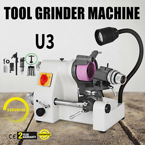 U3 Universal Tool Cutter Grinder Machine 5 Collets Double Bearing Wear resisting