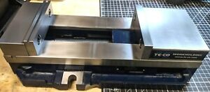 Te co 6 Single station Kurt style Milling Vise Pws6900 Almost Completely Unused