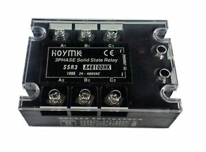 New Hoymk Ssr3 d4860hk 60a Dc ac Ssr3 D4860hk 3 Phase Solid State Relay