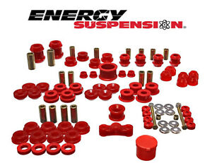 Energy Suspension Hyper flex System For Acura Integra 94 01 Exc Type R Red