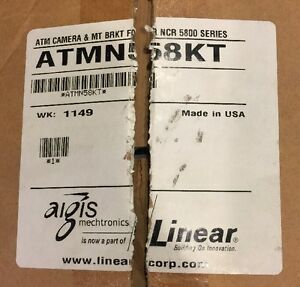 New Atmn58kt Atm Camera Mounting Bracket For Ncr 5800 W Remote Linear Aigis