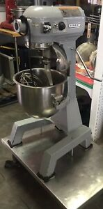 Hobart A 200ft 20 Qt Bakery Donut Pizza Dough Mixer W Bowl Whip Floor Model