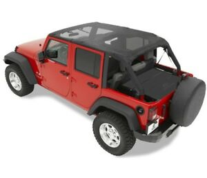 Safari style Bikini Top For 2007 2009 Wrangler Unlimited