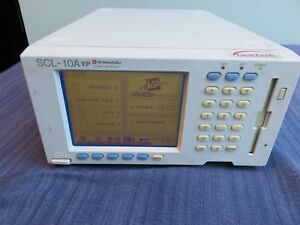 Shimadzu Scl 10a Vp Lab Benchtop Hplc System Controller Guaranteed