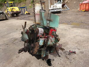Detroit Diesel 3 53 Engine Runs Perfect Dynahoe Backhoe Forklift Skidder Gm 353