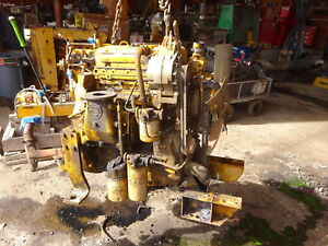 Detroit Diesel 3 53 Engine Video Runs Perfect 353 Hyster Taylor Roller Lift