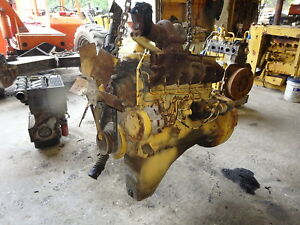Waukesha Vrd310s Turbo Diesel Engine Rare Runs Perfect Vrd 310 Vrd310 Oliver