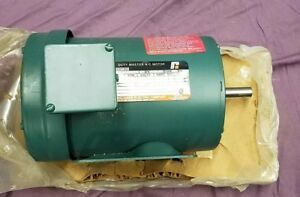 Reliance Duty Master P56h1436m 1 5hp Electric Motor Brand New