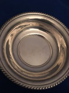 Sterling Silver Candy Change Dish
