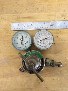 Vintage Victor Equipment Company Compressed Gas Regulator M350 80 540
