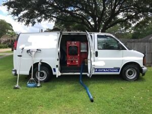 Used Carpet Cleaning Van and Truck Mount Unit