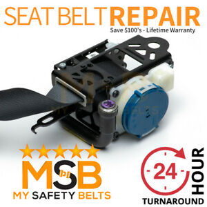 Honda Civic Coupe Si Seat Belt Repair Reset Rebuild Recharge Service