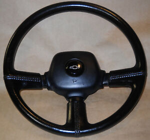 Chevrolet 3 Spoke Steering Wheel Lumina Euro Camaro Nova Chevy Truck C10 Gm