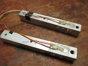 Two Strain Gauge Load Cells Removed From Working Befour 4801k Scale