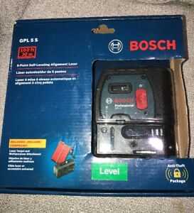 Bosch 5 Point Self Leveling Alignment Laser Level gpl 5 S