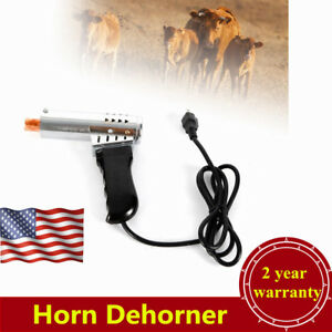Fast Heating Electric Cattle Calf Lamb Dehorner For 15 70 Days Calf Lamb Horn Us