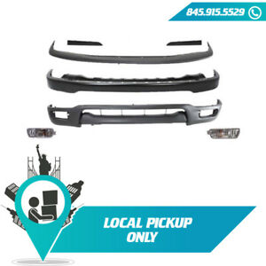 Local Pickup Front Bumper Package 7 Kits Assembly 2001 2004 Fits Toyota Tacoma