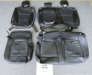 2015 2018 Original Ford F 150 Super Crew Rear Black Leather Seat Upholstery