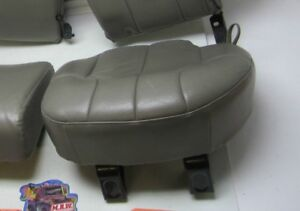 Rear Back Seat 01 Grand Cherokee Tan Leather Base Bottom Cushion Driver Side Oem