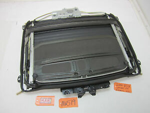 2006 06 Acura Rsx Sunroof Sun Roof Track Panel Guide Glass 02 03 04 05 Oem Oe