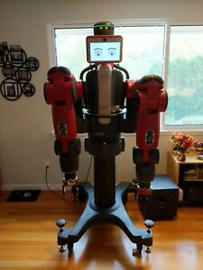 Rethink Robotics Baxter Robot Collaborative With Vacuum Grippers And Pedestal