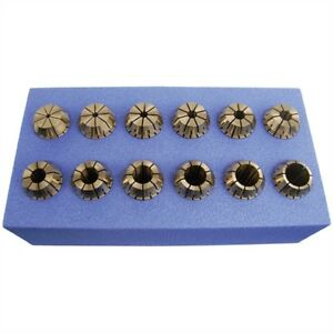 Shark Tools 12 Pc Er20 Collet Set 5 32 1 2 By 32nds
