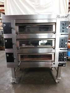 Revent Triple Modular Deck Oven