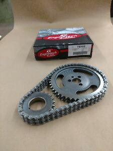 1957 2002 5 0 5 7 6 6 Chevy Sbc Double Row Timing Chain Set 305 350 400 Ts163