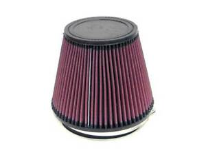 K n Ru 3100 Universal Air Intake Filter Cone 6 Inlet Tapered Meshed Cotton