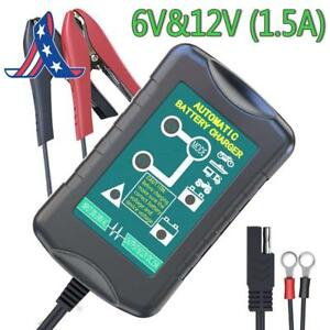 Lst Trickle Battery Charger Automatic Maintainer 6v 12v Smart Float For Auto Ca