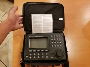 Tektronix Tek Rfm 150 Signalscout Cable Analyzer Tested W carrying Case