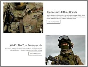 Us military Clothing Website free Domain make 100 Guaranteed Or Pay Nothing