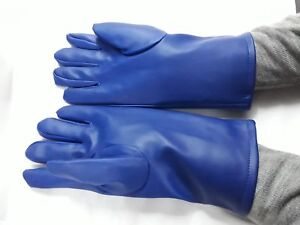 X ray Lead Gloves Lead Radiation Protective Blue Colour With 0 5mm Freeshipping