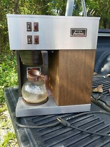 Bunn Vpr Commercial Coffee Maker Double Burner Great Condition