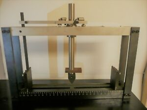 Satec Flexural Tool Three 3 Point Bend Test Instron Tensile Tester Astm D790