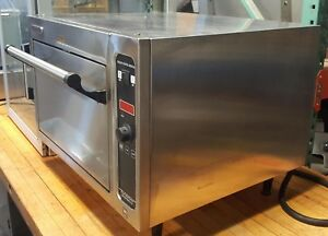 27 2 Stone Deck Pizza Oven Bar Counter Blodgett 1415 Tested Used Electric