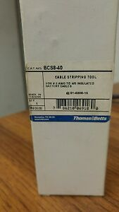 Thomas Betts Bcs8 40 Cable Stripping Tool