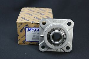 Genuine Iptci Sucsf205 16 1 Stainless Steel 4 Bolt Flange Bearing