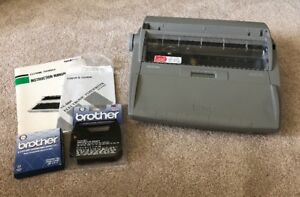 Brother Sx 4000 Electronic Typewritter Tested working W Extras