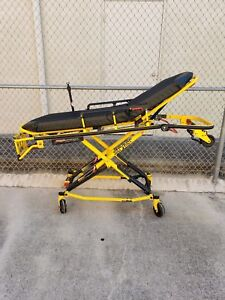 Stryker Mx pro 650lb 6082 Ambulance Stretcher W brake Mattress Gurney Cot Ferno
