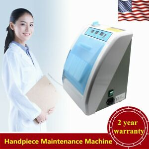 Dental Automatic Handpiece Maintenance Cleaner Cleaning Lubrication Device 350ml