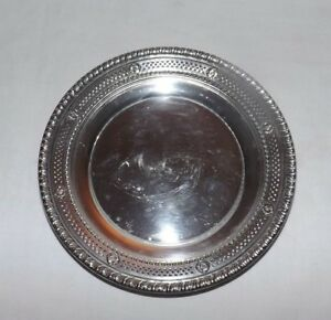 Wallace Sterling Silver 4050 9 Reticulated 6 3 4 Bowl Weight About 4 2 Ounces