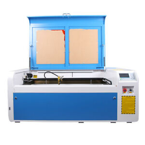 Reci 100w Laser Engraving Cutting Machine Co2 Engraver Cutter Ruida Rdc6445 New