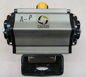 Radius Air To Air Double Acting Actuator Ad 008 24v Solenoid