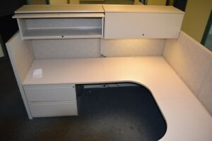 50 6 x6 6 x8 Kimball Interworks Office Cubicles 66 H Or High Low